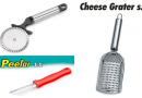 Avani Peeler & Regan Cheese Grater at Rs.51 MRP-Rs.151 lowest Deal