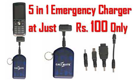 All in one Multipurpose Mobile Charger