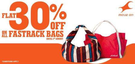 Fastrack Bags at discount price with coupon