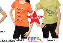 Tantra Women Tee at Rs.79 (MRP Rs.299) with Shipping LOWEST DEAL