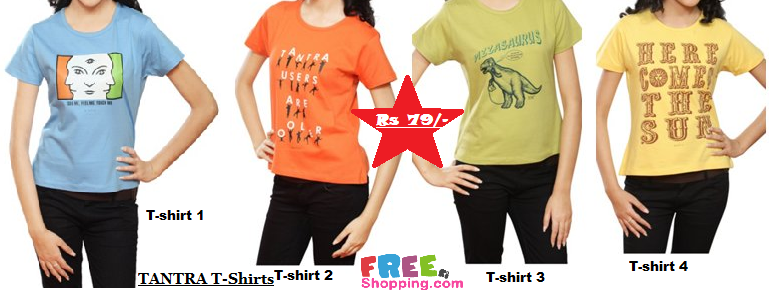 tantra women t-shirt, lowest deals online