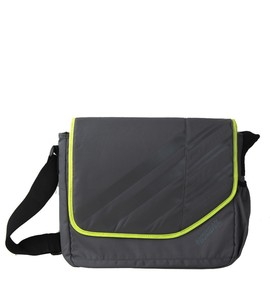 buy American-Tourister-Messenger-Laptop-Bag-Grey-Color
