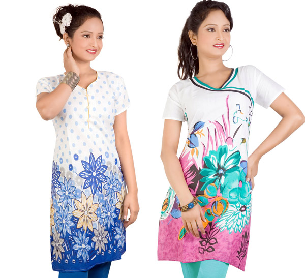 Buy Printed Kurtis online Lowest deal free ki shopping