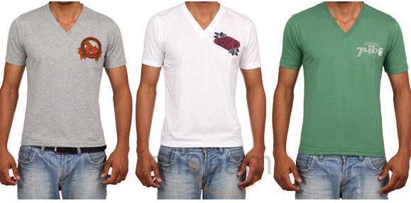 buy Lux Genx Astro V Neck T Shirt online