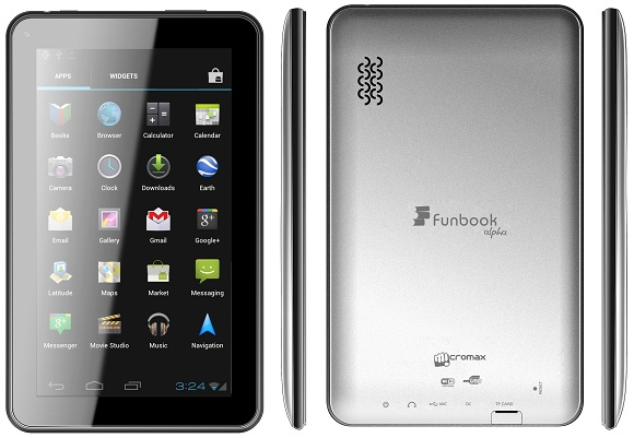 Buy Micromax Funbook Alpha 250 lowest price online