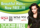 Order Free sample of Sesa Hair Oil online