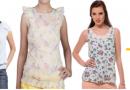 Buy 3 ladies top + Spinz Deo online at Rs.617/-