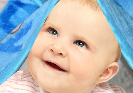 Cute Baby Mink Blanket