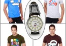 Fopping Pack of 4 T Shirts With Reebok Watch Combo @ Rs 999/- only