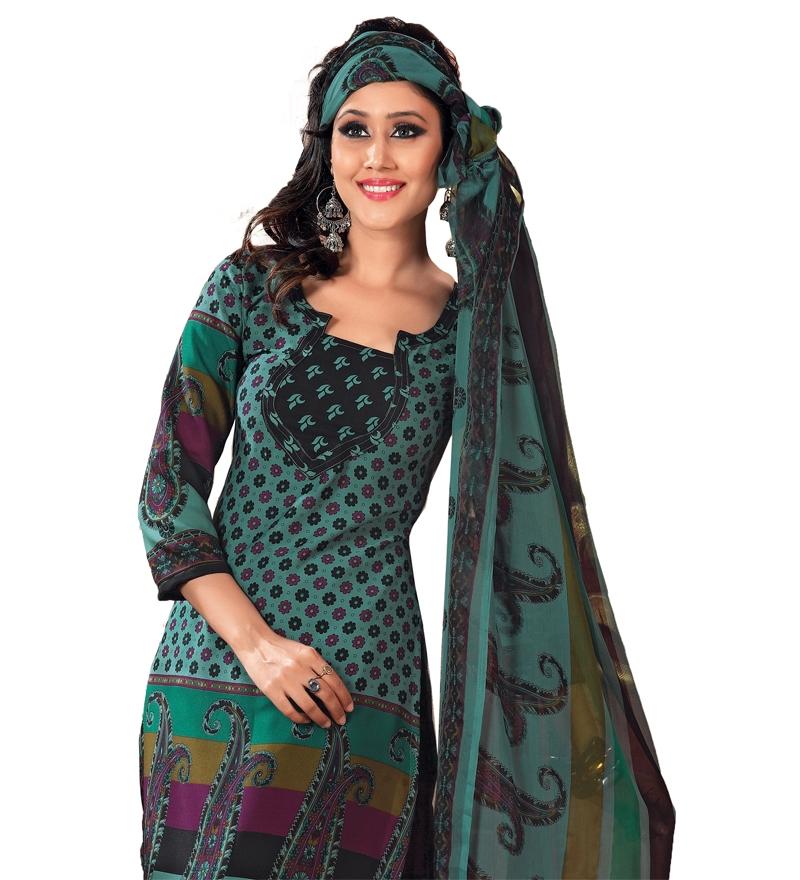 salwar green