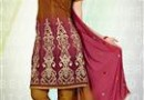 Atisundar Brown – Dress Material @ Rs 999/-