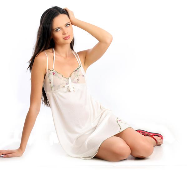night wear white