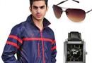 Yepme Biker Jacket, Watch & Sunglasses @ Rs 999/-