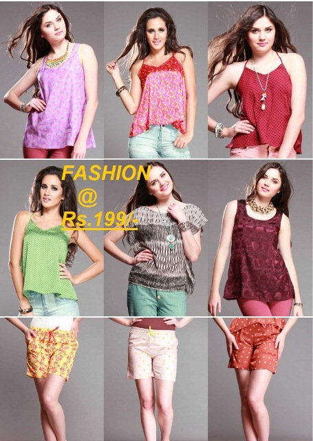 Fashion loot at Rs.199/- by Shopnineteen