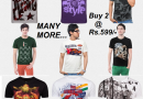Buy 2 Graphic tshirts at just Rs.599/-