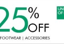 FLAT 25% OFF on Apparel, Footwear, Accessories of UCB