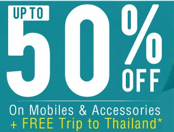 Get upto 50% OFF on Mobile Accessories