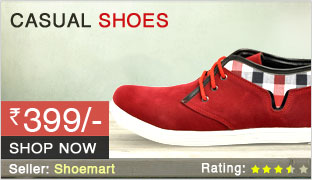 Buy Casual Shoes @ FLAT Rs. 399