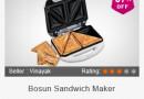 Buy Bosun Sandwich Maker @ Rs. 590
