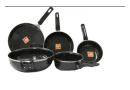 Buy Captain Cook Set of 5 Pcs cookware @ Rs. 428