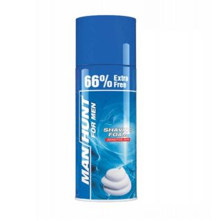 Buy Manhunt Shaving Foam 300mL + 200mL @ Rs.98
