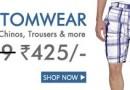 Buy Men's Bottomwear @ FLAT Rs. 425