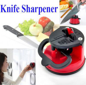 Get Knife Sharpener With Suction Pad Grinder Safety Portable Home @ Rs. 154