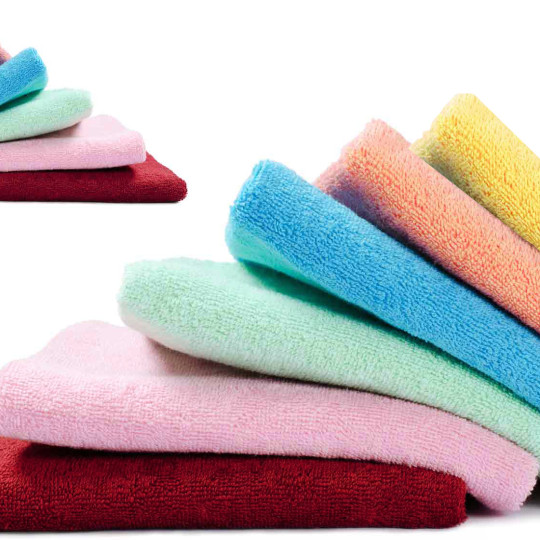 Buy 100% Cotton Face Towels (Set of 6) @ Rs. 94