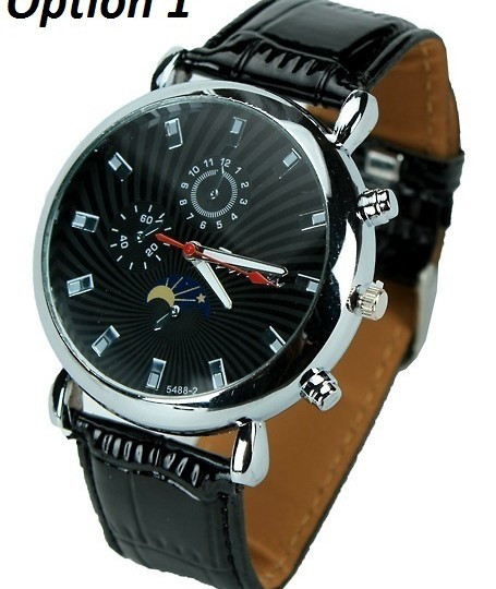 Buy Tenwei Analog Leather Strap Watch for Men - 6 Options @ Rs.154
