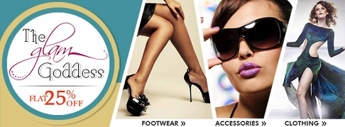 Get FLAT 25% OFF on Women's Footwear,Accessories,Clothing