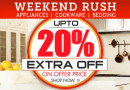 Get Upto 20% extra off on bestsellers