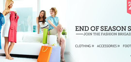 End of season sale FLAT 20% OFF