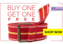 Canvas Belts Buy 1 Get 1 Free at Rs.149/-