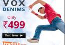 Buy Denims at Rs.499/-