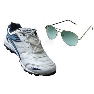 Buy Evotek Men's Sport Shoes With Free Sunglasses @ Rs.473