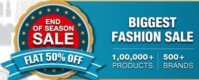 End of Season Sale | FLAT 50 % OFF on Women Footwear