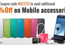 Get FLAT 10% OFF on Mobile Accessories