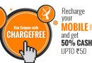 Get 50% Cashback on Mobile or DTH Recharge
