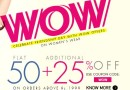 Get FLAT 50% + Additional 25% OFF on Women's Wear