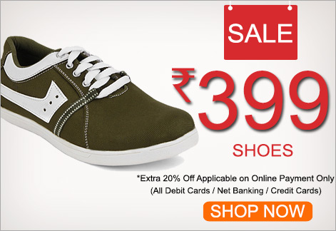 Buy Yepme Sports/Casual/Formal Shoes @ FLAT Rs. 319