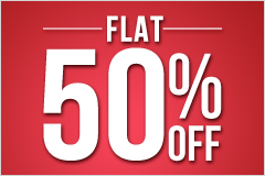 Get FLAT 50% OFF on Everything on Jabong