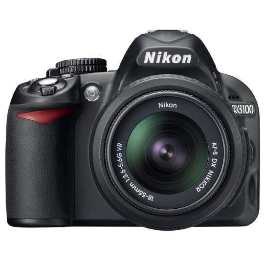 Buy Nikon D3100 Digital SLR Camera with 18-55MM VR Lens, 4GB Memory @ Rs. 23142/-