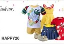 Get Upto 60% + Extra 20% OFF on kid's clothes & fashion