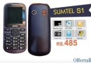 Buy Sumtel Dual Sim Mobile @ Rs. 585