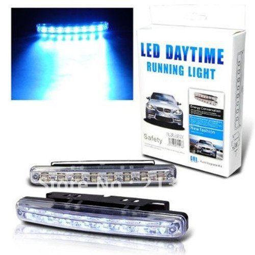 Buy Daytime Super Running 8 LED Lights Pair (2 Strips) @ Rs. 191