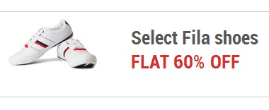 Get Additional 60% OFF on FILA Shoes