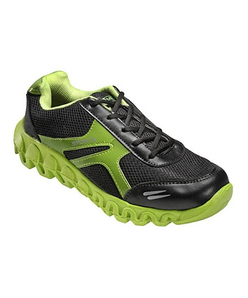 Buy Yepme Flash Forward Sports Shoes- Black & Fluorescent Green @ Rs. 359
