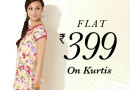 Buy DIVA kurtis @ FLAT Rs. 399