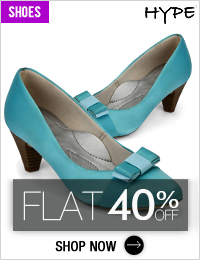 Get Additional 40% OFF on HYPE Women Shoes