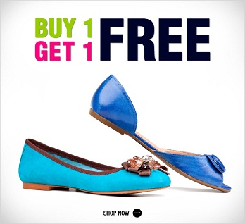 Buy One get One FREE on Ladies sandals (Starting at Rs. 749)
